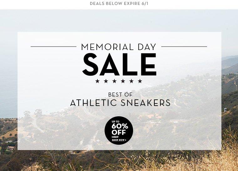 A 5/30 - MEMORIAL DAY SALE: Performance Footwear