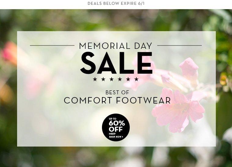 A 5/30 - MEMORIAL DAY SALE: Casual Footwear