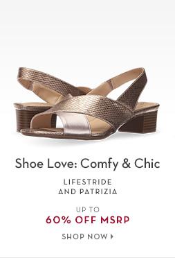 B 6/22 - Shoe Love: Comfy & Chic