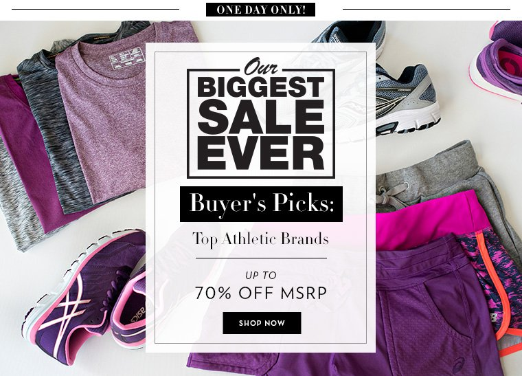 A 6/23 - Buyers Picks: Top Athletic Brands