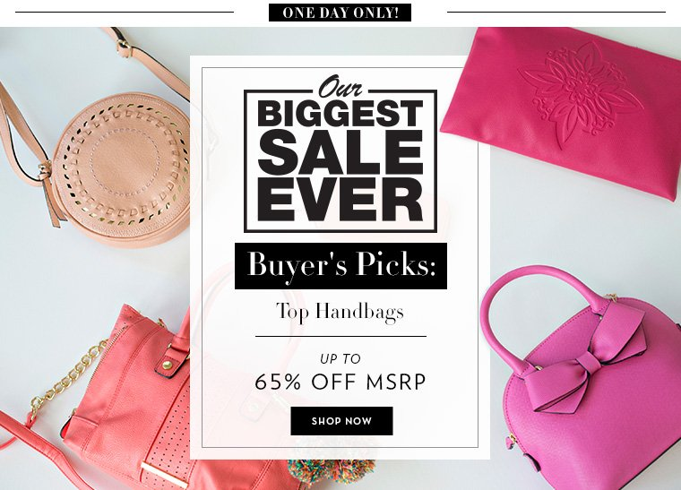 A 6/23 -  Buyers Picks: Top Handbags Styles