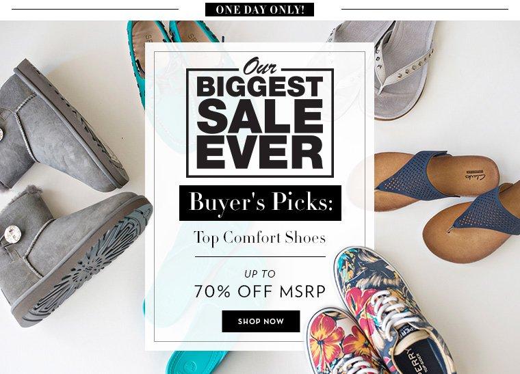 A 6/23 - Top Casual Footwear brands