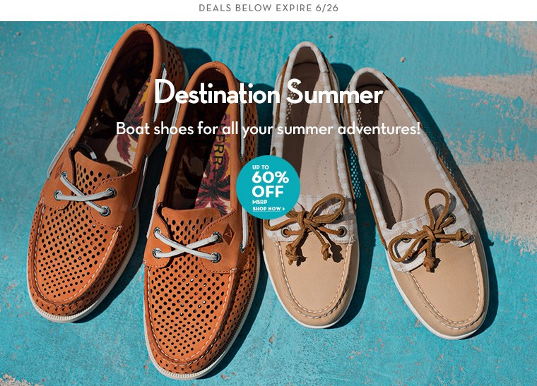 A 6/24 - Boat Shoes