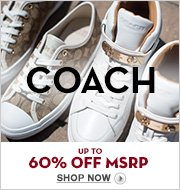 COACH Up to 60% Off MSRP