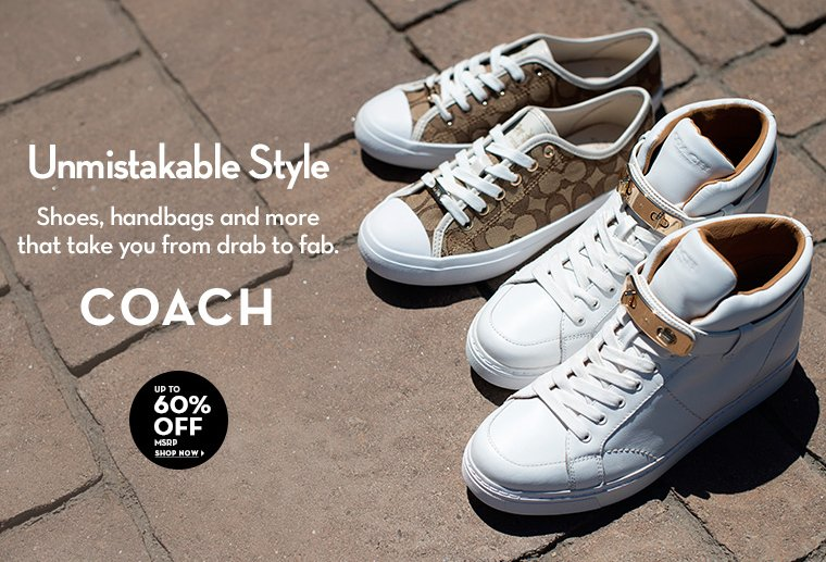 A 6/30 - COACH - Up to 60% Off MSRP