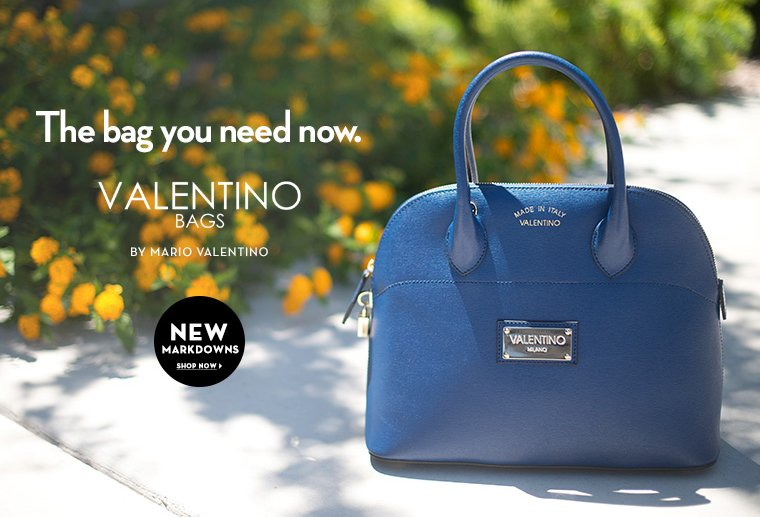 A 6/30 - Valentino Bags by Mario Valentino New Markdowns!