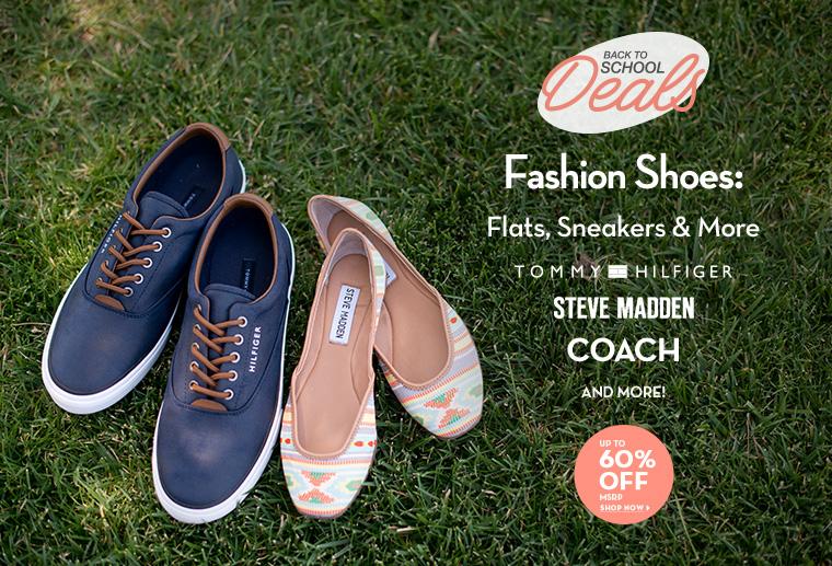 A 7/14 - Back To School: Fashion Footwear