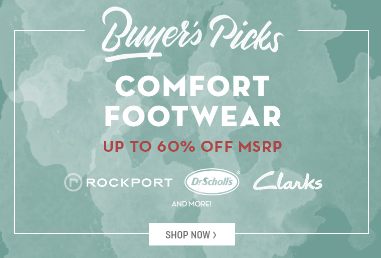 A 8/22 - Shop Buyer's Picks: Casual Footwear