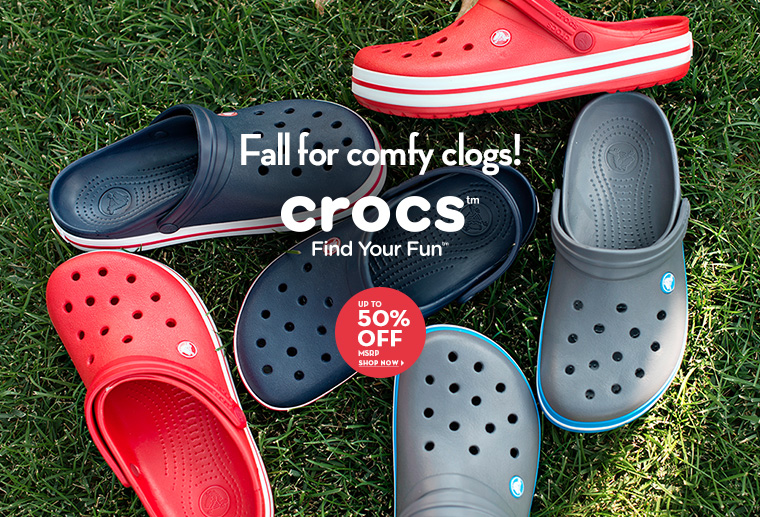A 8/25 - Shop Crocs