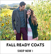 Shop 1ST DAY OF FALL: Fall Ready Coats