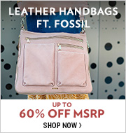 Shop Leather Handbags ft. Fossil
