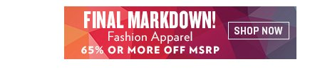 Shop Last Call Final Markdown Fashion Apparel