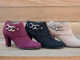 A 12/2 - Colorful Comfort Booties