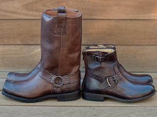 A 12/2 - Dark Brown Frye Boots