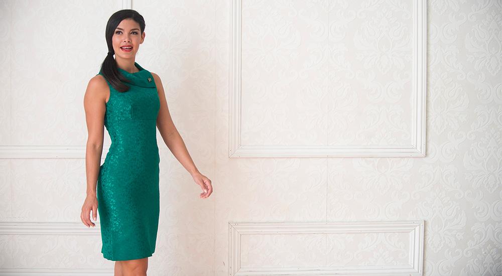 A 12/2 - Green Tahari by ASL Dress