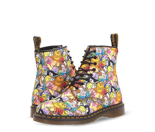 B 12/4 - Dr. Martens Multi-color Character Boots