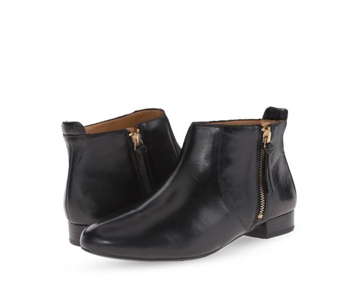 B 12/9 - Nine West Black Leather Booties