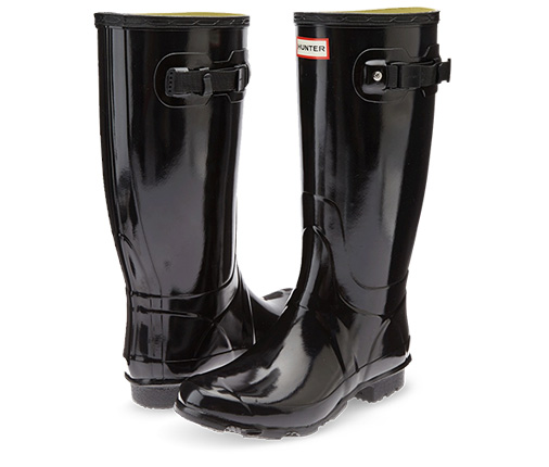 B 12/10 - Black Hunter Rain Boot