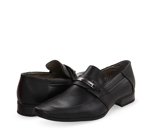 B 1/18 - Black Men's Calvin Klein Dress Shoes