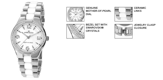 how to adjust anne klein ceramic watch