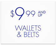 Wallets & Belts