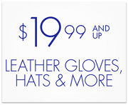 $19.99 Leather Gloves