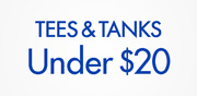 Tops & Tanks Under $20
