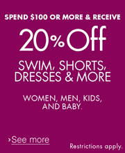 20% Off $100 Clothing