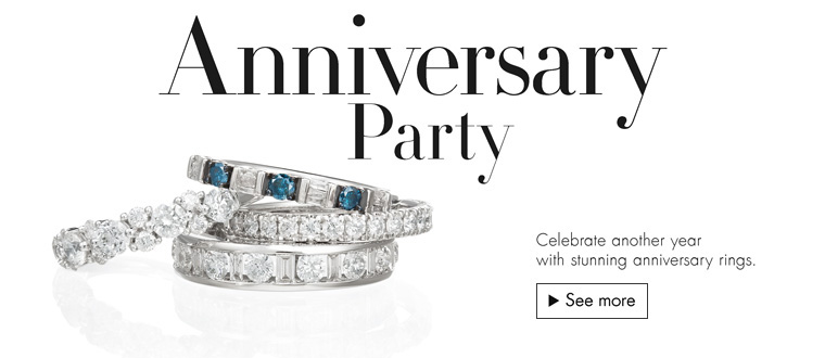 Anniversary Party: Celebrate another year with stunning anniversary rings