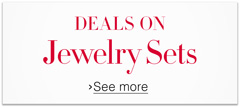 Deals on Jewelry Sets