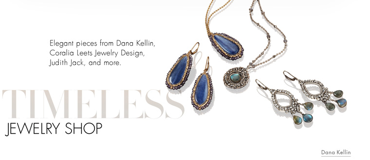 Timeless Designer Shop: From classic elegance to heirloom style, accessorize your every look with a piece from our timeless designer jewelry collection.