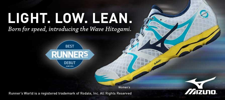 Mizuno Women's Wave Hitogami Running Shoe