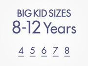 Big Kid Sizes