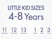 Little Kid Sizes