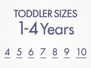 Toddler Sizes