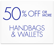 Handbags and Wallets Deal