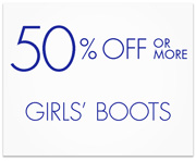 Girls' Boots Deal