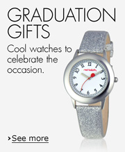 Graduation gifts: Cool watches to celebrate the occasion.