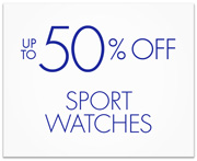 Up to 50% Off Sport Watches