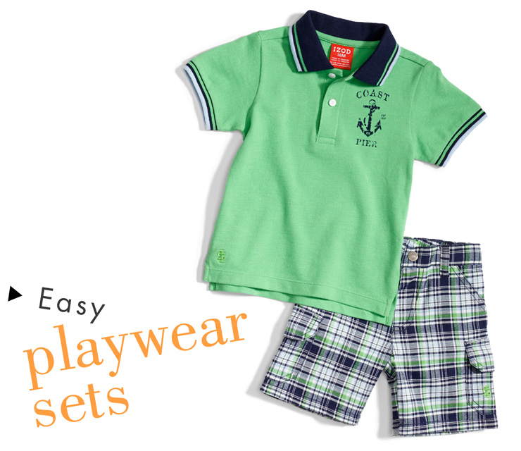 Easy Playwear Sets