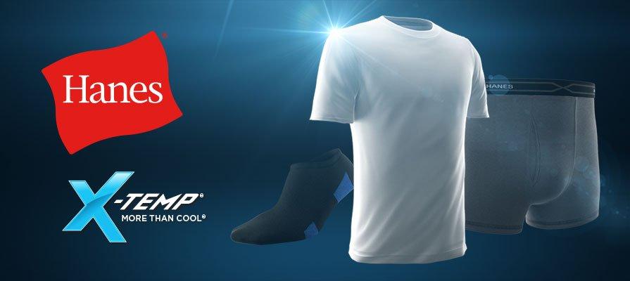 f0caac75 Hanes Ultimate Men's Classics X-Temp Crew-Neck Soft Breathable T ...