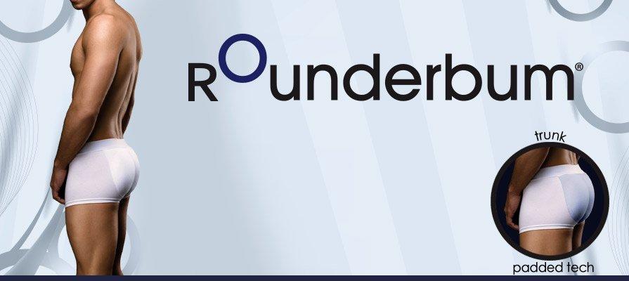 Amazon.com: ROunderbum Men's Butt-Enhancing Padded Trunk: Clothing