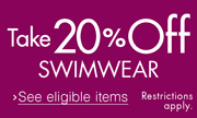 Take 20% Off Swimwear
