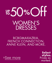 Up to 50% Off Dresses