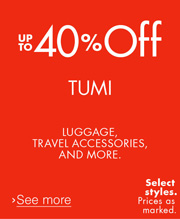 60% Off Luggage