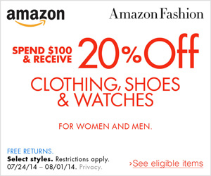 Shop Amazon Fashion: Spend $10