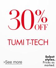 30% Off Tumi T-Tech