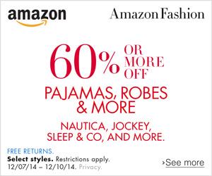 amazon.com pajamas robes nautica jockey fashion clothing discounts sleepware sale