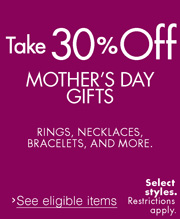 Take 30% Off Jewelry