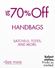 Up to 70% Off Handbags